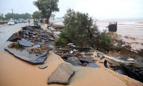 Κακοκαιρία στην Κρήτη: Κλειστά την Τετάρτη δημοτικά και νηπιαγωγεία σε περιοχές του Ρεθύμνου