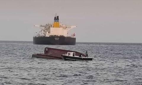 Σύγκρουση ελληνικού τάνκερ με τούρκικο ψαροκάικο στα Άδανα - 5 αγνοούμενοι