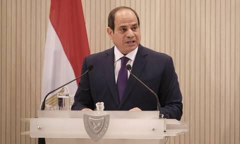 Στην Αθήνα ο πρόεδρος της Αιγύπτου - Επαφές με Σακελλαροπούλου - Μητσοτάκη