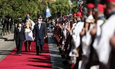 Αλ Σίσι: Η Αίγυπτος θα σταθεί δίπλα και υπέρ της Ελλάδας για τα δικαιώματά της (photos)