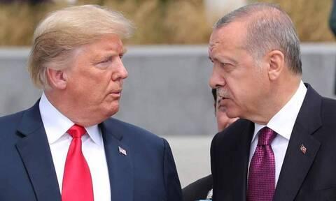 Νέο «χαστούκι» Τραμπ σε Ερντογάν - Στο περιθώριο ο διαταραγμένος Σουλτάνος