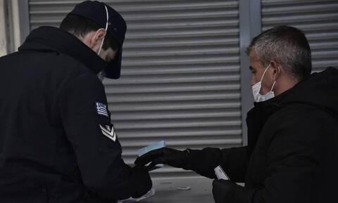 Κορονοϊός: Συνολικά 1.731 παραβάσεις την Τρίτη για μη τήρηση των μέτρων του lockdown