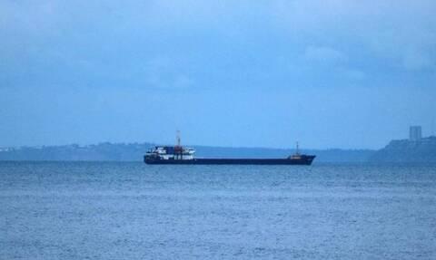 Φωτιά σε φορτηγό πλοίο βόρεια της Ελαφόνησου