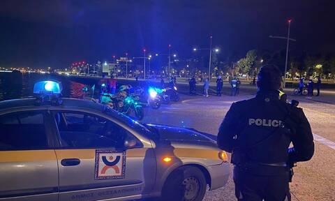 Lockdown – Θεσσαλονίκη: Σαρωτικοί έλεγχοι της Αστυνομίας για την τήρηση των μέτρων