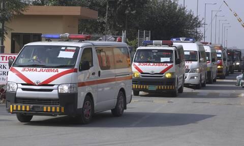 Τραγωδία στο Πακιστάν: 22 καλεσμένοι σε γάμο σκοτώθηκαν σε ατύχημα με τρίκυκλο αμαξίδιο