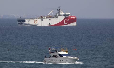 Τραβάει το σχοινί η Τουρκία: Στην τουρκική υφαλοκρηπίδα το Oruc Reis