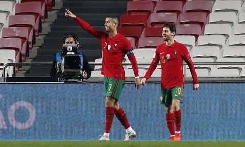 Εθνικές ομάδες: Έγραψε ιστορία ο Ρονάλντο, ρεκόρ ο Ράμος – Τα γκολ των αγώνων