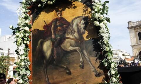 Κρήτη: Τον πολιούχο Άγιο Μηνά τίμησε η πόλη του Ηρακλείου
