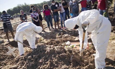 Κορονοϊός στη Βραζιλία: 48.331 κρούσματα και 544 θάνατοι σε 24 ώρες