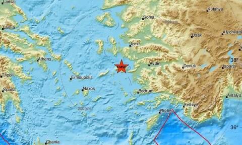 Σεισμός ΤΩΡΑ στη Σάμο: Νέος αισθητός μετασεισμός στο νησί τα ξημερώματα