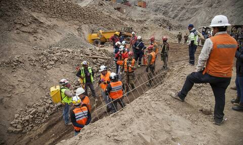 Θρίλερ στην Κολομβία: 14 εργαζόμενοι έχουν παγιδευτεί σε χρυσωρυχείο