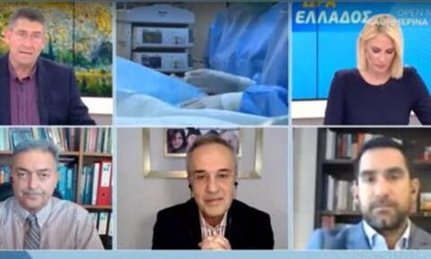 Κορονοϊός - Βασιλακόπουλος: Αν δεν κάνουμε ό,τι μπορούμε σε λίγο θα πεθαίνουν αβοήθητοι