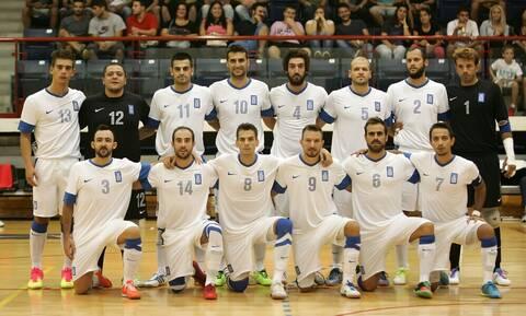 Live Streaming Ελλάδα-Τουρκία Futsal