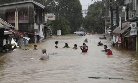Φιλιππίνες: 24 νεκροί από το σαρωτικό πέρασμα του τυφώνα Βάμκο