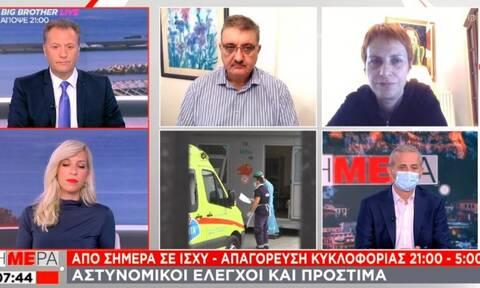 Κορονοϊός - Εξαδάκτυλος: Στη Θεσσαλονίκη πρέπει να πάμε σε μέτρα Μαρτίου …χθες