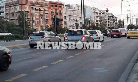 Ρεπορτάζ Newsbomb.gr: Αυξημένη και σήμερα η κίνηση στους δρόμους της Αθήνας (pics)
