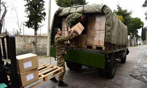 Κορονοϊός - Ένοπλες Δυνάμεις: Πολύτιμη βοήθεια στην Πολιτεία – Θωρακισμένες Μονάδες και Σχολές