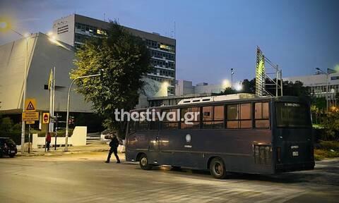 Θεσσαλονίκη: Ισχυρές αστυνομικές δυνάμεις γύρω από το Αριστοτέλειο