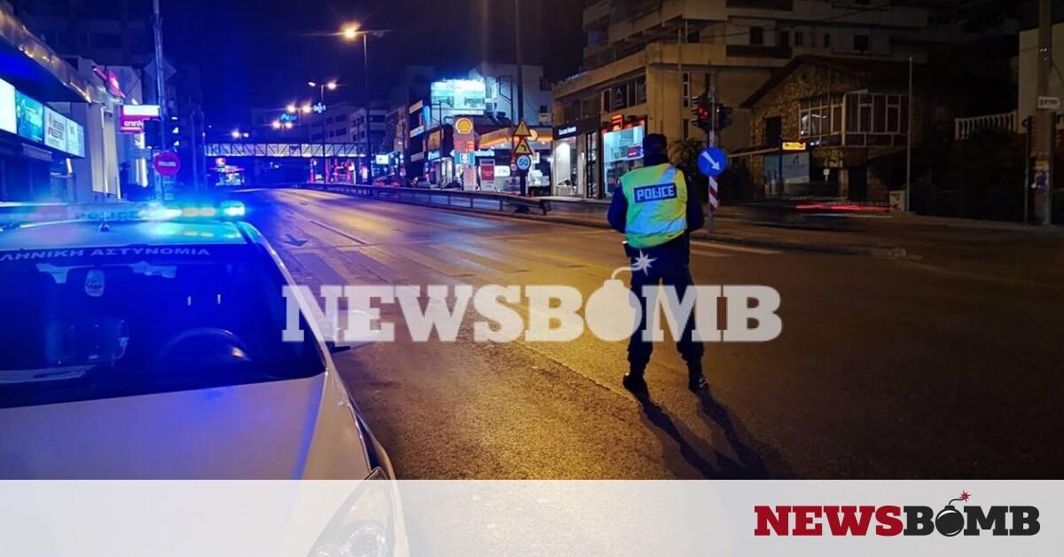 Ρεπορτάζ Newsbomb.gr – Σε ισχύ η απαγόρευση κυκλοφορίας: Ερήμωσε η Αθήνα – Άδειοι δρόμοι και μπλόκα – Newsbomb – Ειδησεις