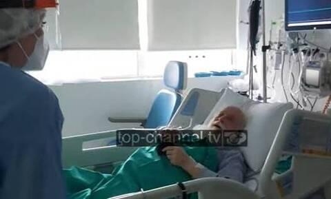 Κορονοϊος - Αρχιεπίσκοπος Αναστάσιος: Συγκλονιστικό βίντεο μέσα από το νοσοκομείο (vid)