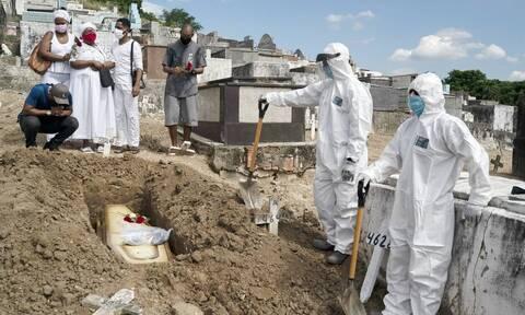 Κορονοϊός - Βραζιλία: 456 νέοι θάνατοι και επιπλέον 29.070 κρούσματα σε 24 ώρες
