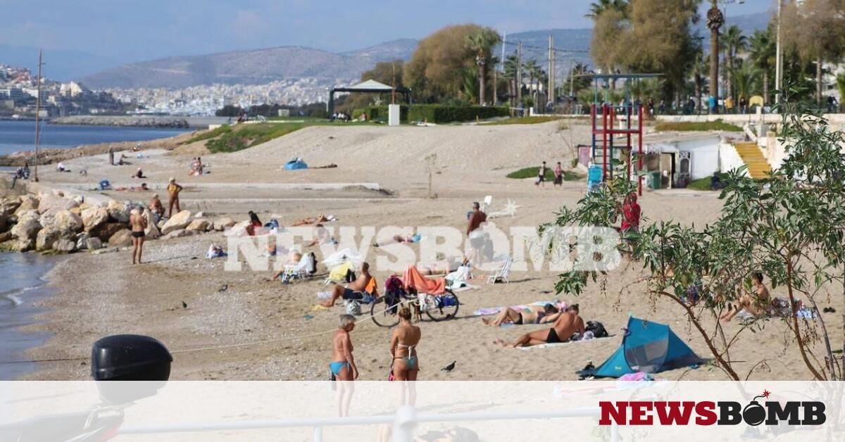Ρεπορτάζ Newsbomb.gr – Lockdown: Δείτε τι γίνεται σε παραλία του Φαλήρου – Νοέμβριος όπως… Ιούνιος – Newsbomb – Ειδησεις