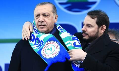 Στοιχεία-σοκ για την κατάρρευση της τουρκικής οικονομίας - Πότε ο Ερντογάν καρατόμησε τον Αλμπαϊράκ