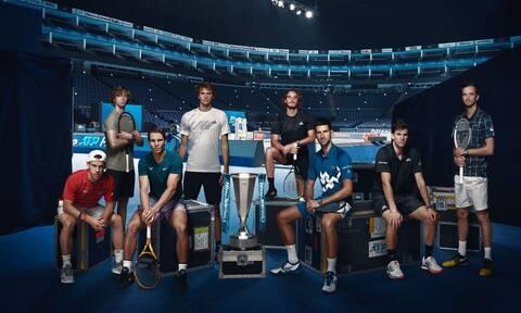 Τσιτσιπάς: «Ο Ναδάλ το φαβορί για τα ATP Finals»