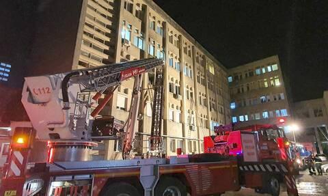 Ασύλληπτη τραγωδία στη Ρουμανία: Νεκροί δέκα διασωληνωμένοι ασθενείς με κορονοϊό από πυρκαγιά