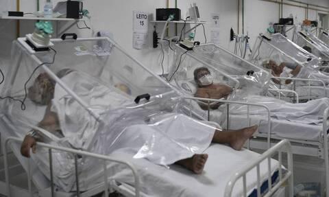 Κορονοϊός - Βραζιλία: 921 νέοι θάνατοι και επιπλέον 38.307 κρούσματα σε 24 ώρες