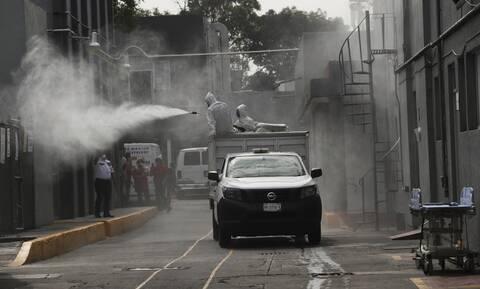 Κορονοϊός στο Μεξικό: 3.269 κρούσματα και 283 θάνατοι σε 24 ώρες