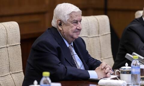 Πέθανε ο υπουργός Εξωτερικών της Συρίας Ουάλιντ αλ Μουάλεμ