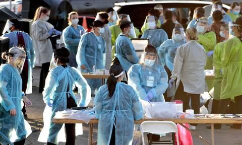 Κορονοϊός: Οι ΗΠΑ ξεπέρασαν το όριο των 11 εκατ. κρουσμάτων - Πάνω από 246.000 οι νεκροί