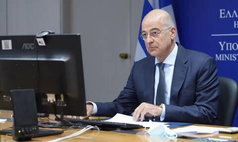 FM Dendias returns to foreign ministry after precautionary quarantine