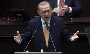 Эрдоган посетил оккупированную часть Кипра