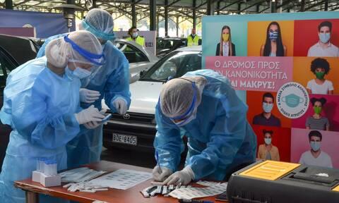 Κορονοϊός: Η Βόρεια Ελλάδα στο «μάτι» της πανδημίας - Tι έδειξαν τα rapid tests