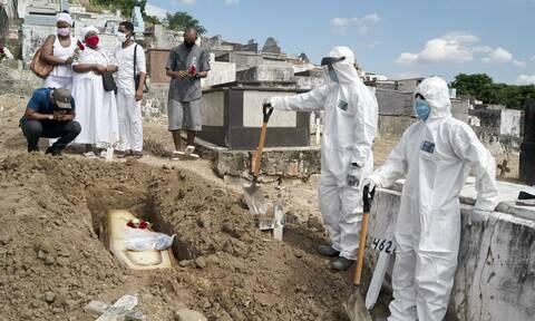 Κορονοϊός στη Βραζιλία: 13.371 κρούσματα και 216 θάνατοι σε 24 ώρες