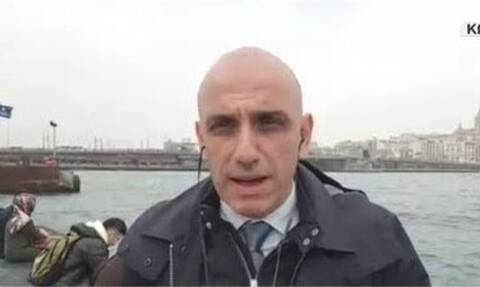 Κορονοϊός: Θετικός ο δημοσιογράφος Μανώλης Κωστίδης - Είναι σε καραντίνα στην Κωνσταντινούπολη