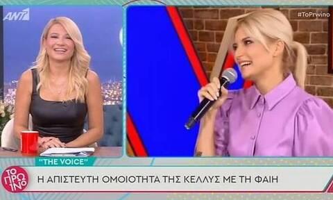 Αυτή είναι η σωσίας της Φαίης Σκορδά! Τι είπε η παρουσιάστρια (video+photos)