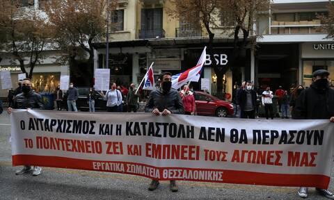 Επέτειος Πολυτεχνείου: Εκρηκτική η ατμόσφαιρα και στην Θεσσαλονίκη - Πληροφορίες για συλλήψεις