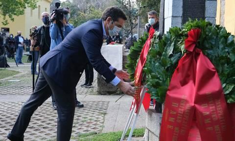 Επέτειος Πολυτεχνείου - Αλέξης Τσίπρας: Κανείς δεν ξεχάστηκε, κανείς δεν θα ξεχαστεί (Vid)
