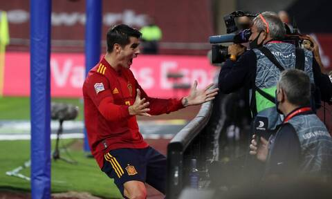 UEFA Nations League: Η Ισπανία ρίχνει τριάρα στην Γερμανία στο ημίχρονο (photos+videos)