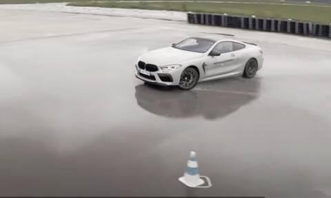 Η BMW παραδίδει μαθήματα drift με την M8 Competition
