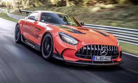 H Mercedes AMG GT Black Series είναι το ταχύτερο αυτοκίνητο παραγωγής στο Nürburgring
