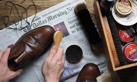 Πώς να περιποιηθείς τα δερμάτινα παπούτσια σου