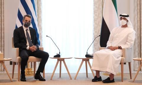Τι υπέγραψε ο Μητσοτάκης στα Ηνωμένα Αραβικά Εμιράτα: Άμυνα, επενδύσεις και τουρισμός