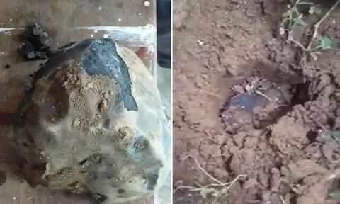 Εκατομμυριούχος από το... πουθενά – Μετεωρίτης τρύπησε την οροφή του σπιτιού του! (video+photos)