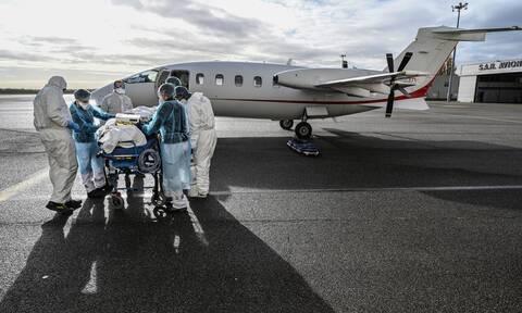 Κορονοϊός - Γαλλία: Πάνω από 400 νεκροί τις τελευταίες 24 ώρες - Μειώνονται οι ασθενείς στις ΜΕΘ