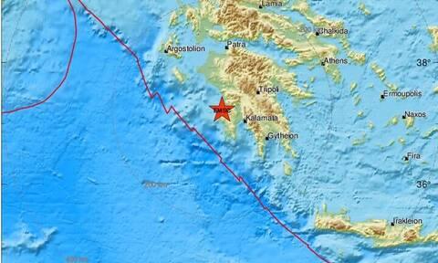Σεισμός κοντά στην Κυπαρισσία - Αισθητός σε πολλές περιοχές