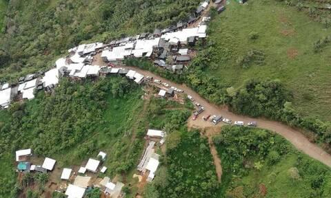 Ισημερινός: Νεκροί και αγνοούμενοι από κατάρρευση μεταλλείου στα σύνορα με την Κολομβία